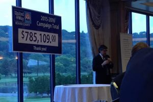 Rob Matzie Attends United Way Awards Presentation