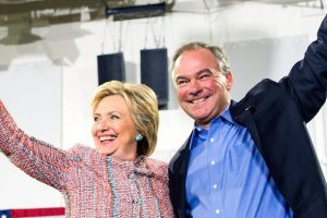 Clinton Selects Senator Tim Kaine as Her Running Mate