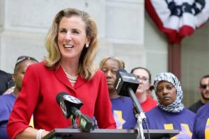 McGinty Speaking at the Democratic National Convention
