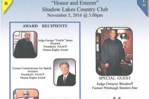 Three Men to be Honored by NAACP