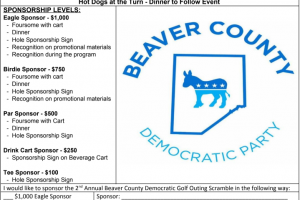 Beaver County Democratic Party Golf Outing