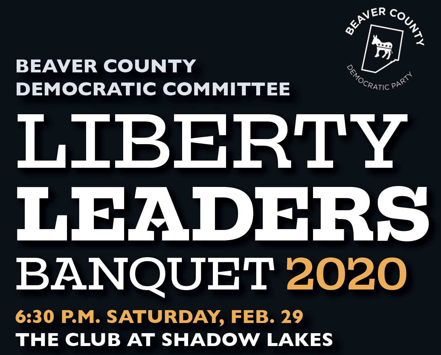 Liberty Leaders Banquet